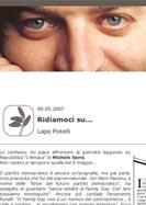 Progetto: Sito web Lapo Pistelli