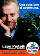Progetto: Lapo Pistelli - Politiche 2001